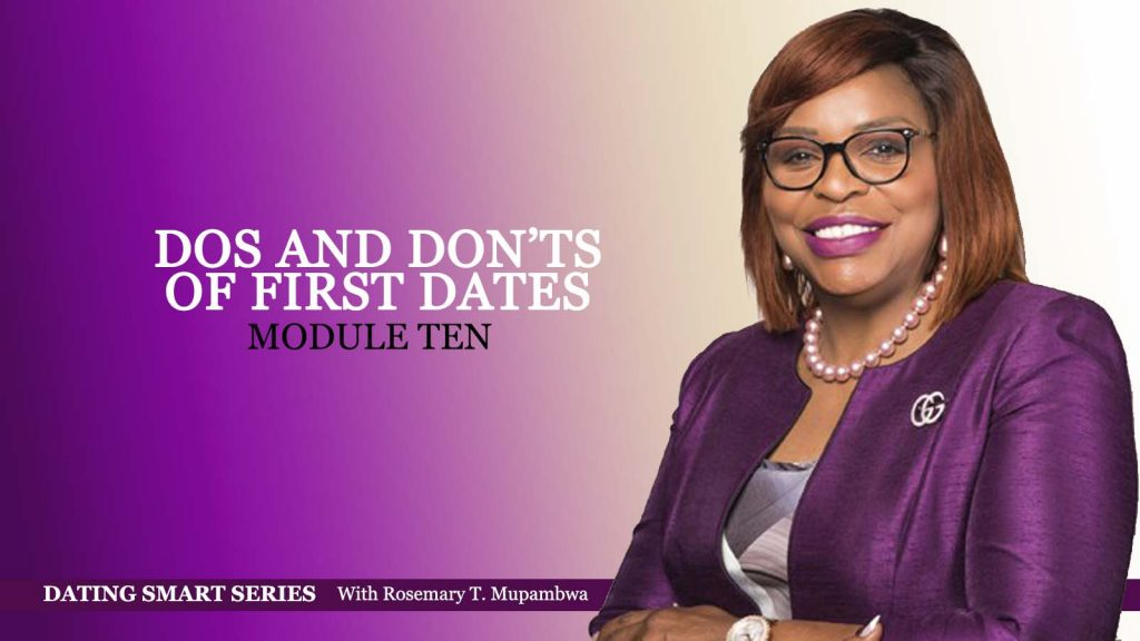 Module 10 DOS AND DON'TS OF FIRST DATES